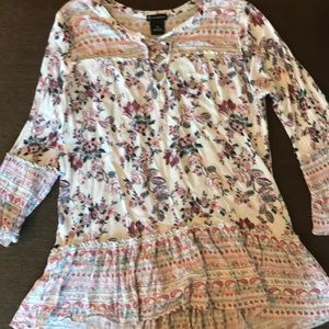 New directions flared blouse.